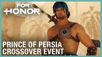 For Honor Prince of Persia Crossover Event Trailer Ubisoft NA