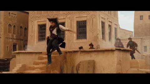 Prince of Persia The Sands of Time - Rooftop Escape Clip