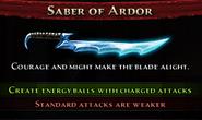 Saber of Ardor