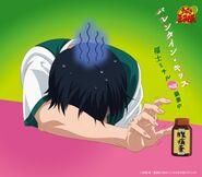 Michiru Fukushi valentine kiss