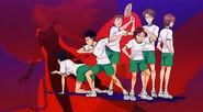 Freshman Seigaku seniors