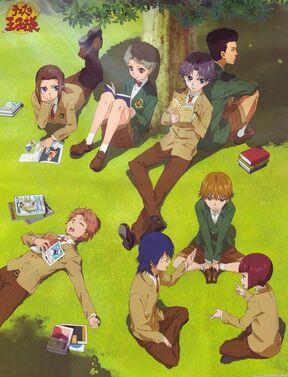 Hyotei regulars two years prior to the storyline Atobe, Ootori, Shishido, Akutagawa, Mukahi, Yushi and Kabaji
