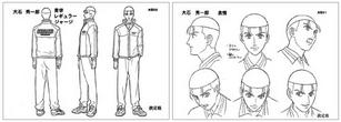 Oishi character deisgn