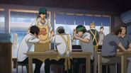 Kaido is told to make Takoyaki for Zaizen and the Idiot pair