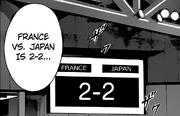 France vs Japan