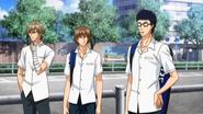 Shiraishi, Fuji and Inui