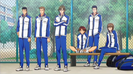 Seigaku 3rd Year middle schoolers (reallt look like High Schoolers though)