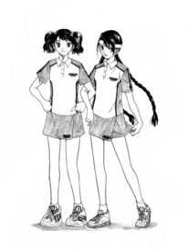 Girls' regular uniform