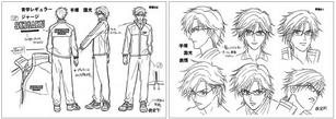 Tezuka character design