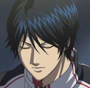 Kazuya smiling