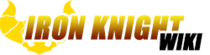 Iron knight new wiki wordmark