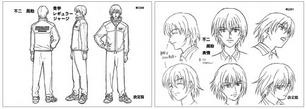 Fuji character design