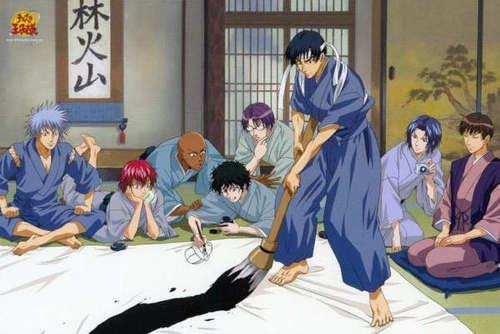 File:The Rikkai Dai team having fun painting.jpg
