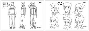 Kawamura character design