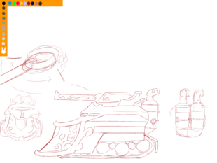 Equestrian Tank