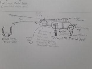 Metal Deer Concept 4
