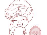 Applejack hoof