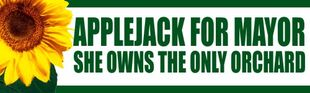 Appljack for Mayor