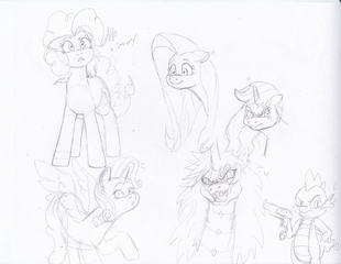Many ponies