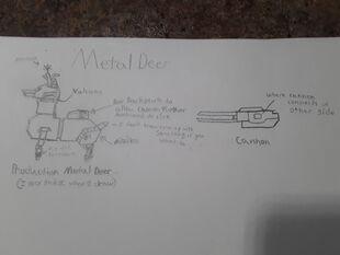 Metal Deer Concept 3