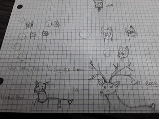 Metal Deer Concept 2