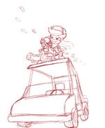 Rainbow Dash buggy gun