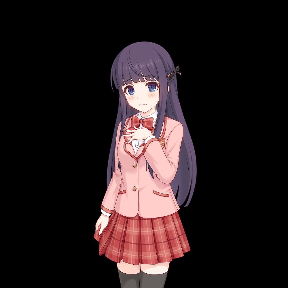 Image Cute Beast Staff Kirihara Kasumi Normal Chapter003 1 Shy Png