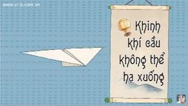 Khinh Khi Cau Khong The Ha Xuong title