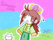 Ori princess artwork