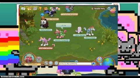 NYAN CATS INVADING ANIMAL JAM!!!