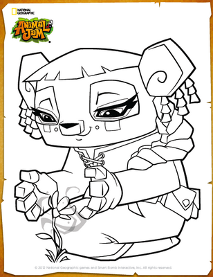 Liza-Coloring-Page1