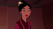 Mulan's wedding dress