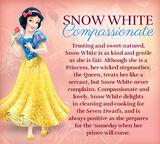 Snow white profile