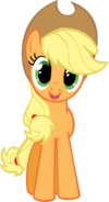 Applejack hugs vector by kitsuneymg-d41gbej