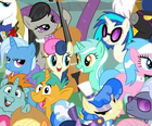 Lyra Heartstrings Sweetie Drops Comic Con poster