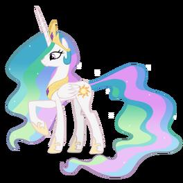 Princess celestia by blackm3sh-d3fykd8