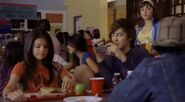 Ed, carter and rosie in the high school
