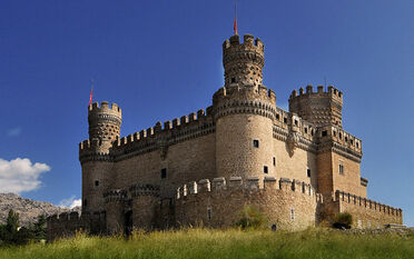 Castillo de manzanares wallpaper 6-9 pano