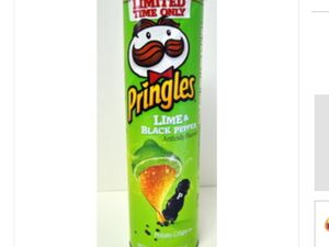 Pringles lime and black pepper