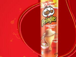 Pringles thai sweet chilli