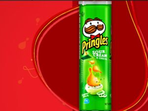 Pringles sour cream and onion