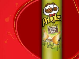 Pringles french onion dip