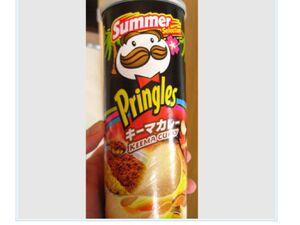 Pringles keema curry