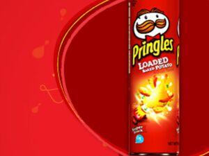 Pringles loade baked potato