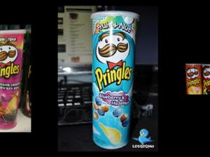 Pringles blueberry and hazelnut