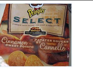 Pringles cinnamon sweet potato
