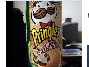 Pringles philly cheesesteak