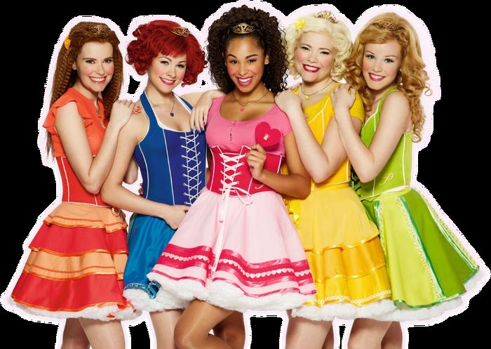 Prinsessen groep main