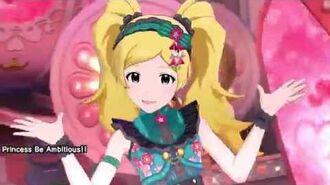 「ミリシタ 4K60fps MV」Princess Be Ambitious!!