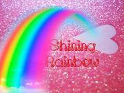 Shining rainbow